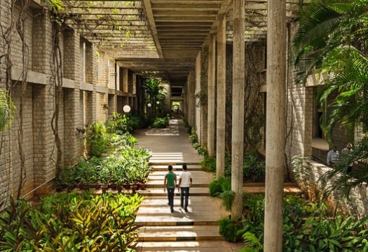 Indian Institute of Management, Bangalore, photo by Vinay Panjwani. Image Courtesy of Vitra Design Museum