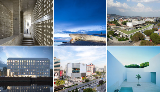 Selected works from six of the nine new honorary AIA Fellows.