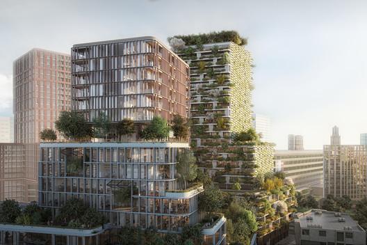 Wonderwoods by MVSA Architects + Stefano Boeri Architetti. Image via MIPIM
