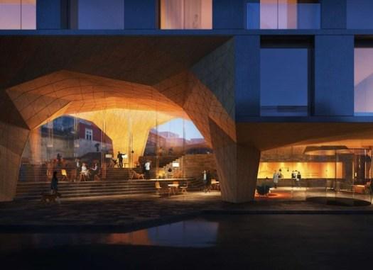 Hotel Tórshavn. Image Courtesy of Henning Larsen