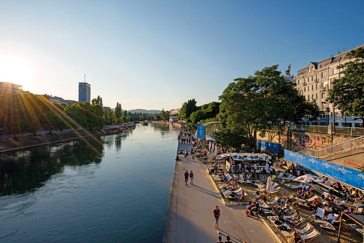 Adria Wien at Danube Canal. Vienna, Austria.. Image © Christian Stemper, via Vienna Tourist Board