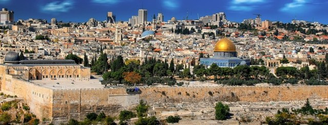 Al-Aqsa Mosque & Dome of the Rock Compound. Image Courtesy of Pixabay