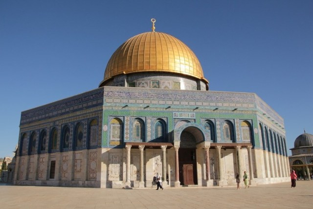 Dome of the Rock. Image Courtesy of Pixabay