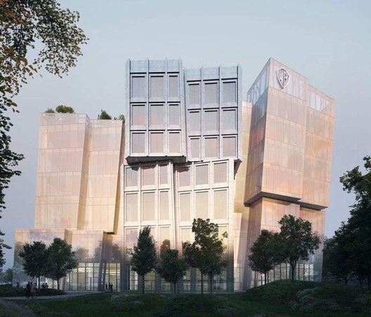 Warner Bros. Headquarters. Image Courtesy of Gehry Partners