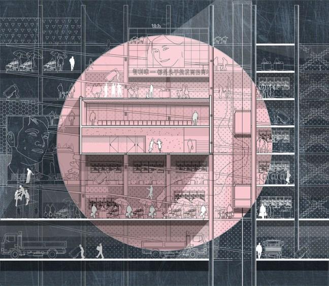 Artefacto de activación en Meiggs / Roberto González. Image Cortesía de Archiprix