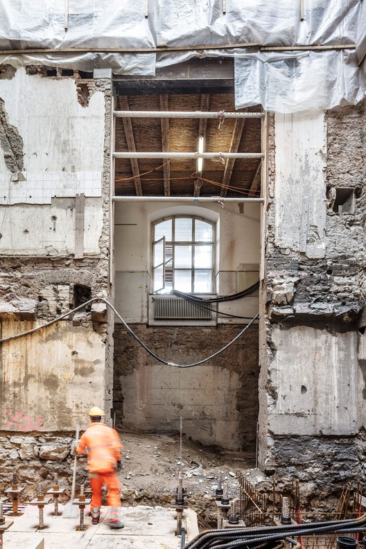 Current State of Existing Structure. Image © Adria Goula
