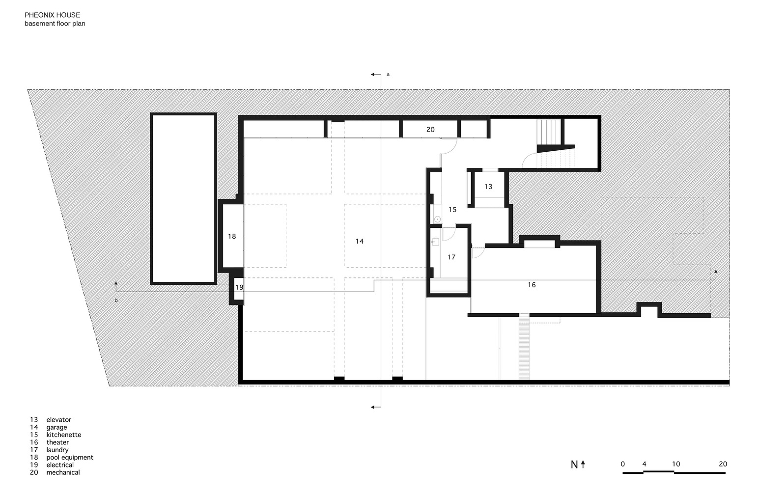 medium resolution of phoenix house sebastian mariscal studio basement plan
