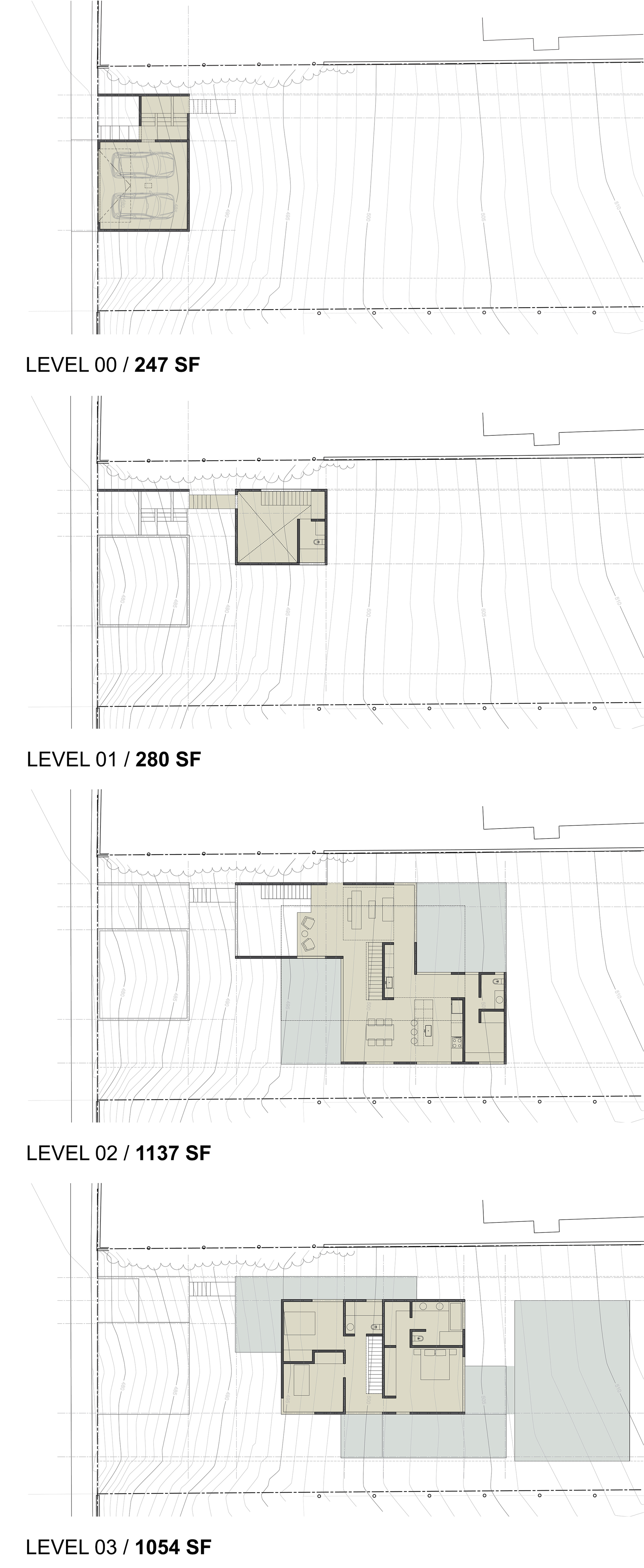 hight resolution of 3 step house chacol plans