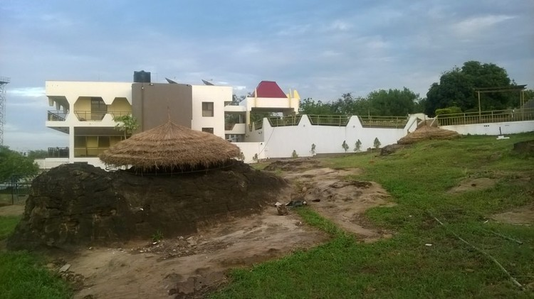 A former luxury villa in Yola, Nigeria, has been transformed into a social innovation hub. Image © Mathias Agbo, Jr. F