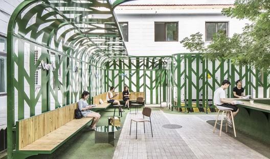 reading area. Image © Kangshou Tang