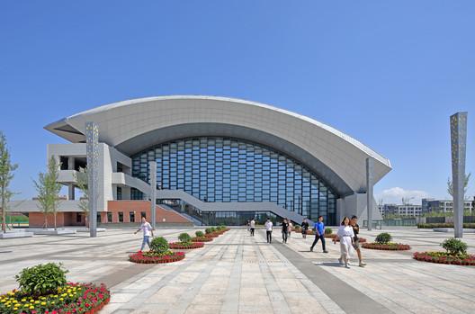 Main Entrance. Image © Guangyuan Zhang