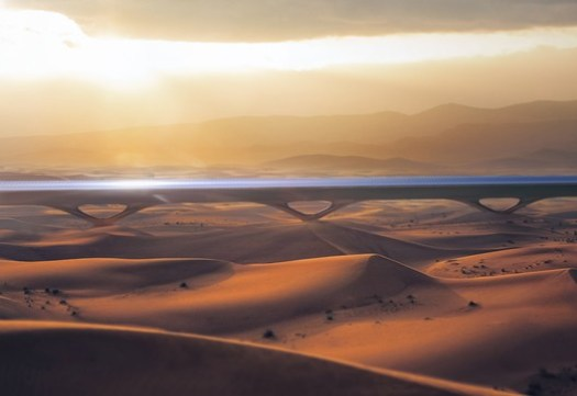 Courtesy of MAD Architects, HyperloopTT