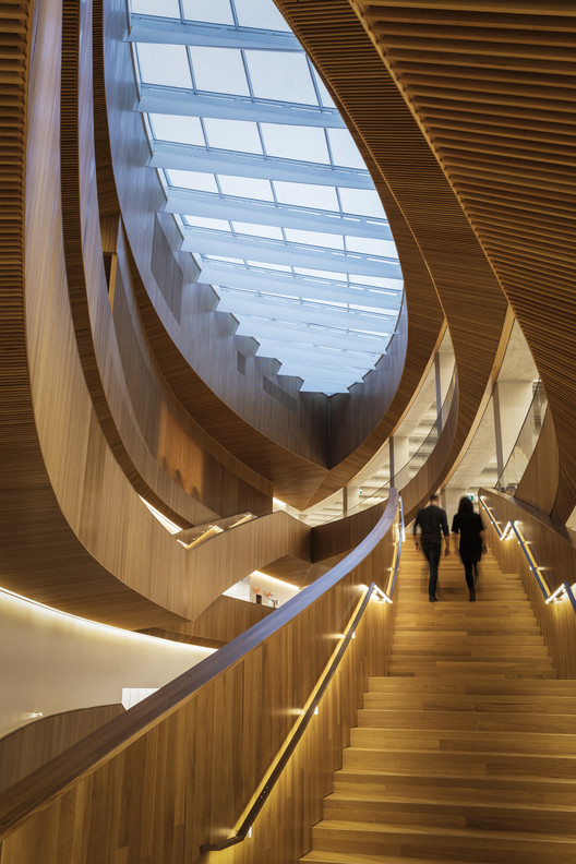 Courtesy of the Wood Design & Building Awards