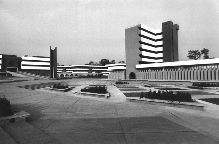 The Campus . Image Courtesy of The Arieh Sharon Digital Archive