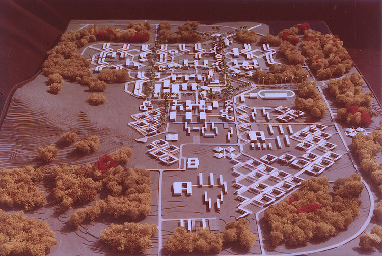 The Campus. Image Courtesy of The Arieh Sharon Digital Archive