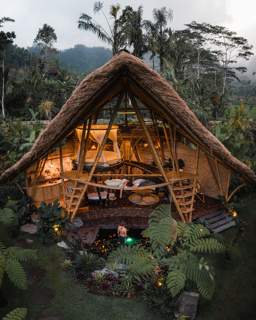 Low Cost Bamboo House Design : bamboo, house, design, Hideout, Horizon, Bamboo, House, Studio, ArchDaily