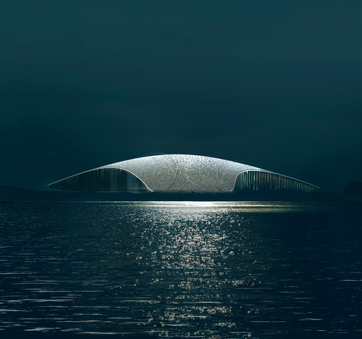The Whale by Dorte Mandrup. Image © MIR