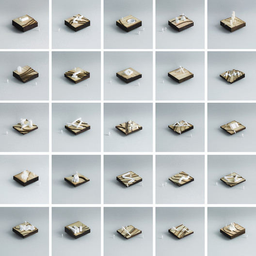 Catalogue of hybrid elements. Photo: The Authors