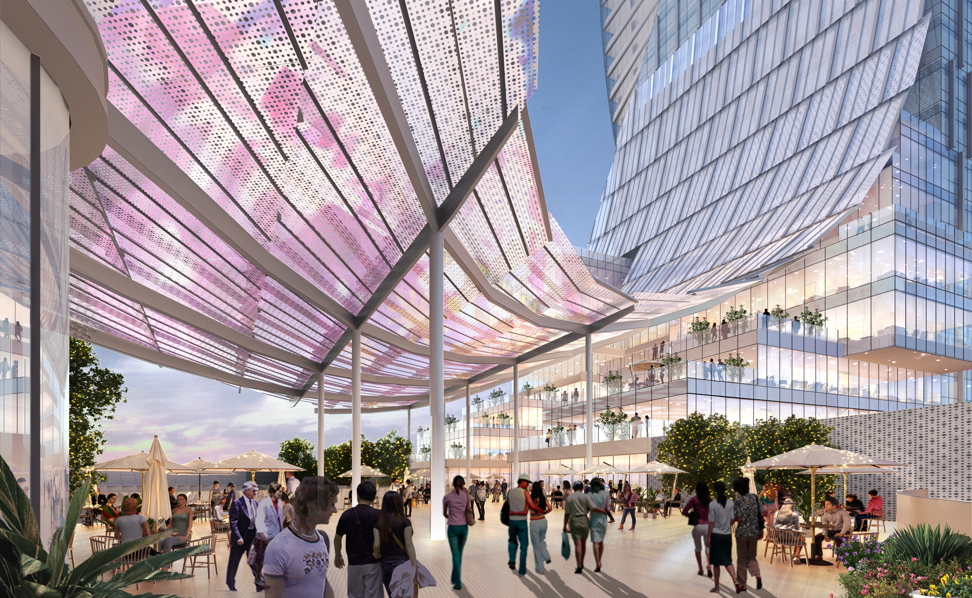 Gallery of Ronald Lu & Partners Showcases Upgraded Concept for a Transit-Oriented Development - 5