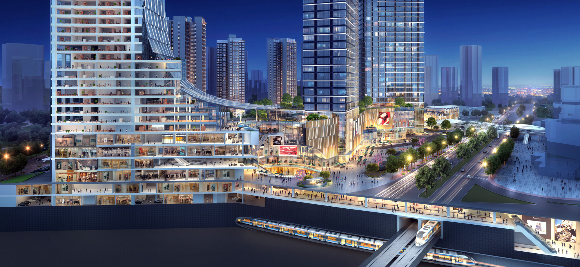 Gallery of Ronald Lu & Partners Showcases Upgraded Concept for a Transit-Oriented Development - 2
