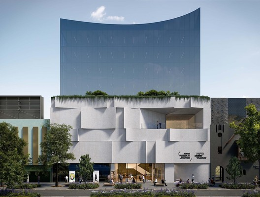 Elsternwick Jewish Arts Quarter. Image Courtesy of Mclldowie Partners