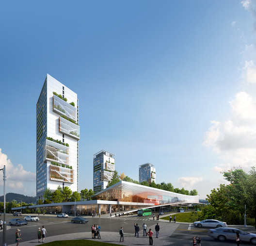Gangil 1st position. Image Courtesy of M.A. Architects & Partners
