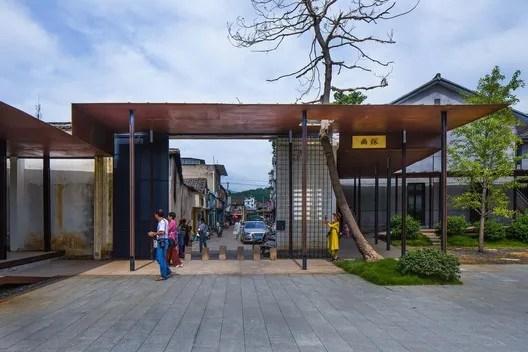corridor entrance. Image © Arch-Exist