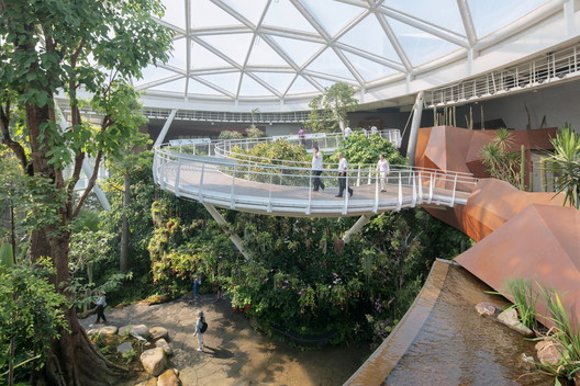 Botanic Garden of International Horticultural Expo in Beijing / URBANUS. Image Courtesy of Wang Hui