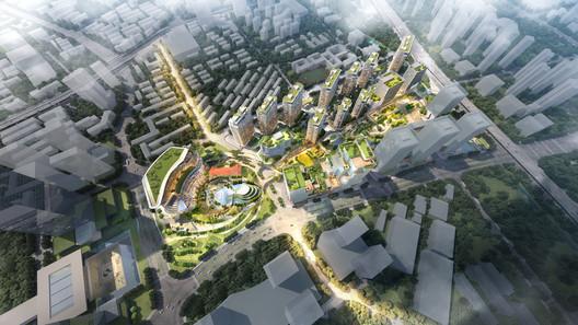 Courtesy of Hangzhou Wangjiang New Town project