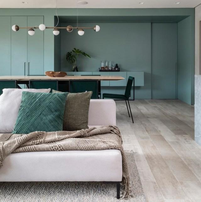 Apartamento ARQ / Sala2 Arquitetura. Foto © Evelyn Muller