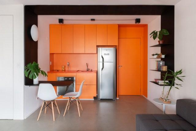 Apartamento Tetrys 607 / CR2 Arquitetura. Foto © Cris Farhat