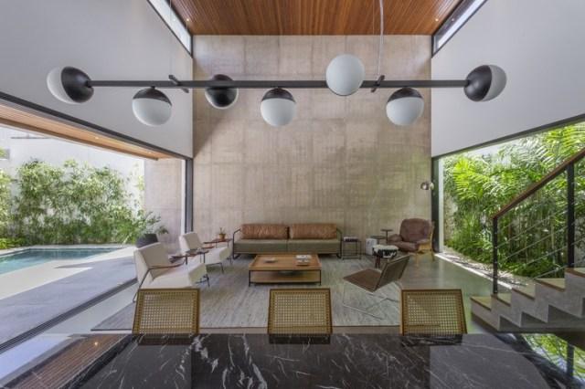 Casa Cajás / Aguirre Arquitetura. Foto © Israel Gollino