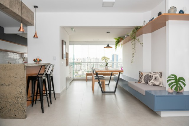 Apartamento MD / Estudio Itinerante de Arquitetura. Foto ©Cris Farhart