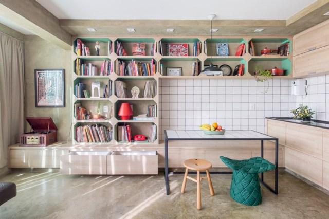 Apartamento Gomez / Semerene Arquitetura Interior. Foto ©Joana França