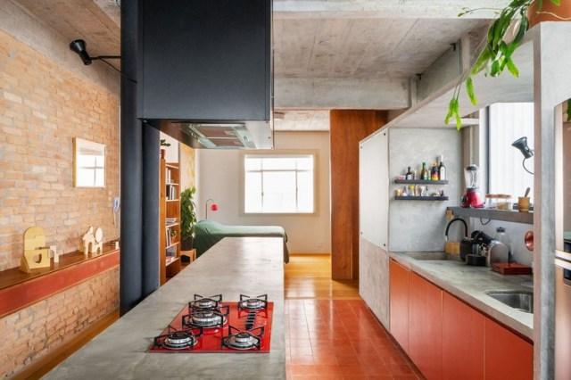Apartamento Arouche / guará arquitetura + Vão. Foto ©André Scarpa