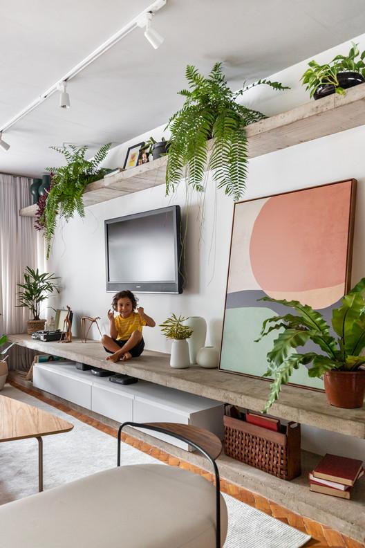 Apartamento Taquinho / Lez Arquitetura. Foto ©Júlia Tótoli
