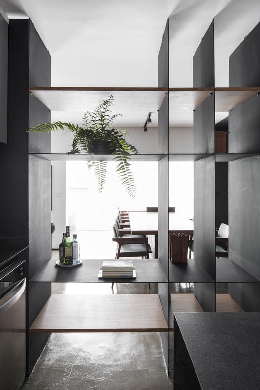 Apartamento JL / flipê arquitetura. Foto ©Carolina Lcaz
