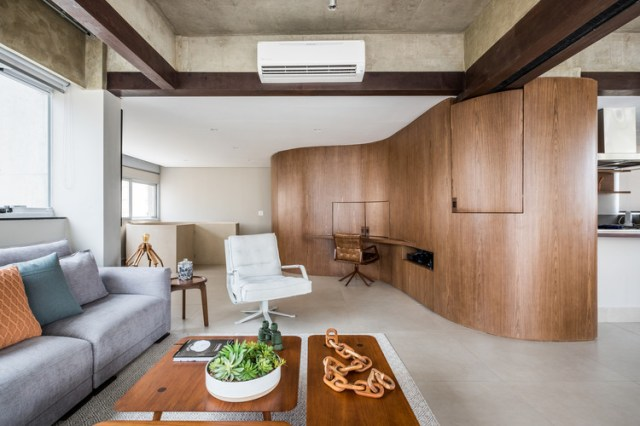 Duplex Curve / Mandarina Arquitetura. Foto ©Nathalie Artaxo