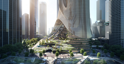 Tower C . Image Courtesy of ZHA