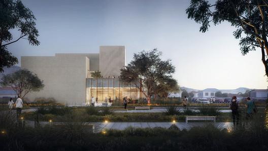 California Institute of Technology Quantum Laboratory. Image Courtesy of Brooks + Scarpa