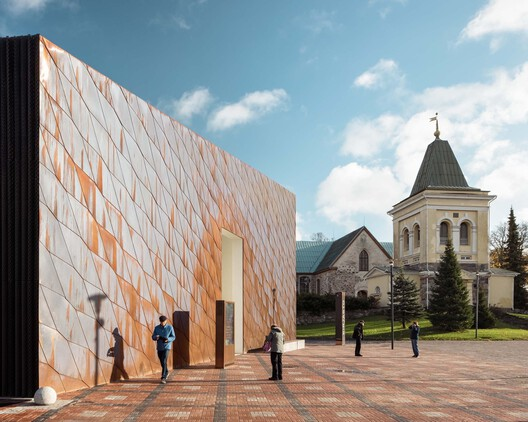 Kirkkonummi Library / JKMM Architects. Image © Tuomas Uusheimo