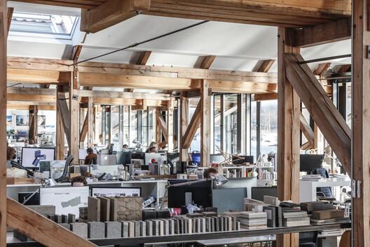 EXN/GXN office. Image © Rasmus Hjortshoj