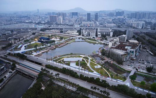 Haoxiang Park Overview Daytime. Image © Yong Zhang