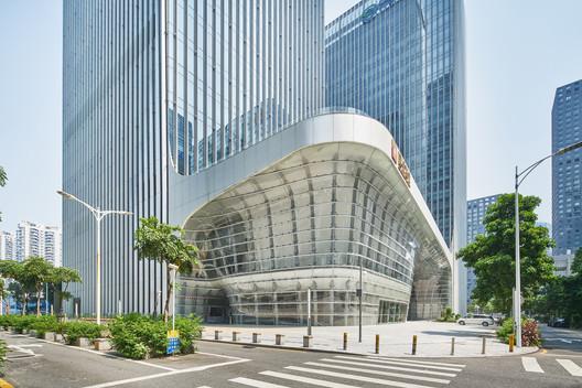 Podium of CDB bank. Image © Yu Bai