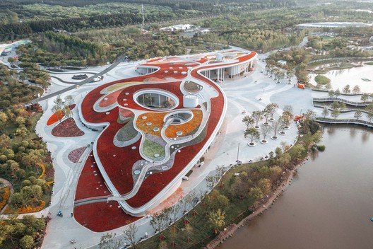 aerial view. Image © Wenyi Liu