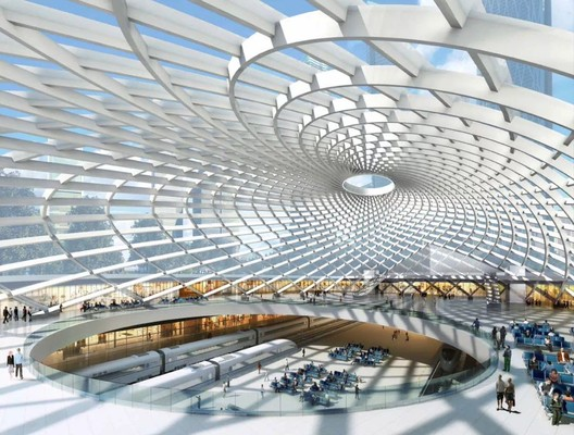 Tianjin High-Speed Rail Station