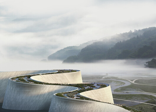 Shenzhen Natural History Museum. Image Courtesy of 3XN
