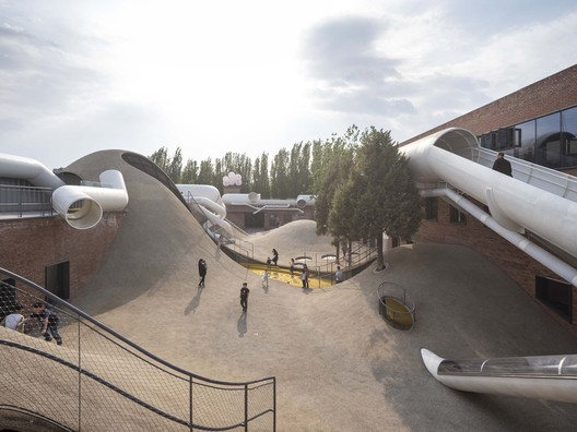 Children's Community Centre The Playscape / waa. Image © Fangfang Tian