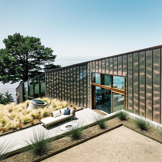 Buck Creek House in Big Sur by Anne Fougeron. Image Courtesy of Anne Fougeron