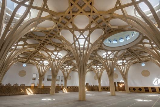 Cambridge Central Mosque. Image Courtesy of RIBA